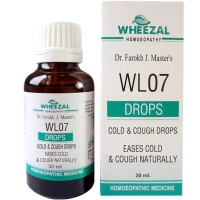 Wheezal WL-7 Cold And Cough Drops (30ml) : Relieves Cold, Cough, Watery Nose, Sneezing, Itchy Eyes, Blocked nose