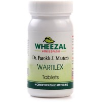 Wheezal Wartilex Tablets (75tab) : Helps Remove Hard and Soft Warts, Painful Corns