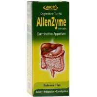 Allens Allenzyme Syrup (250ml) : Improves Appetite, Digestion; Relieves Gas, Constipation, Liver Tonic