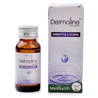 Medisynth Dermoline Drops (30ml) : For Atopic Dermatitis, Eczema, Pruritus, Skin Rashe, Dry & Cracked Skin