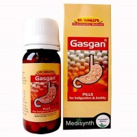 Medisynth Gasgan Pills (25g) : For Flatulence, Gastritis, Indigestion, Bloating & Stomach Pain, acidity