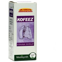 Medisynth Kofeez Syrup (125ml) : For Cough Cold, Chest Congestion & Pain,Bronchitis, Asthma, Wheezing