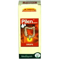 Medisynth Pilen Drops (30ml) : Relieves Painful, Bleeding, Burning Piles, Anal Fissure, Itching at anus