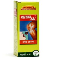 Medisynth Rheumasaj Drops (30ml) : For Joint Pains, Muscular Stiffness, Sciatica, Sprains, Stiff neck