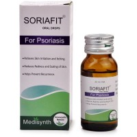 Medisynth Soriafit Drops (30ml) : Relieves Itching, Redness, Dry Eczema, Psoriasis, Cracked and Flaky Skin
