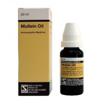 Willmar Schwabe Germany Mullein Oil (20ml) : Reduces Ear pain,Tinnitus, Dry Scales with Obstruction of ear