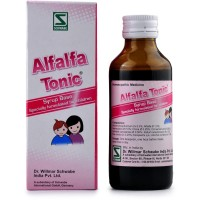 Willmar Schwabe India Alfalfa Tonic (Children) (100ml) : Health Tonic For General Weakness, Lethargy, Lack of Appetite