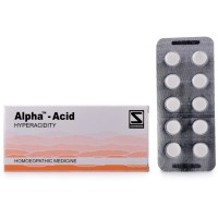 Willmar Schwabe India Alpha Acid (40tab) : Relieves Hyperacidity, Heartburn, nausea, Indigestion, Vomiting