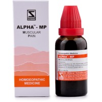 Willmar Schwabe India Alpha MP (Muscular Pain) (30ml) : Helps in Muscular Pain with Stiffness, Cervical Spondolysis, Back Pain