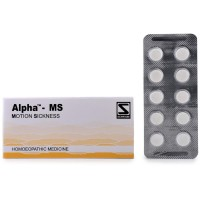 Willmar Schwabe India Alpha MS (Motion Sickness) (40tab) : In Motion Sickness/Travel Sickness with Nausea, Vomiting, Headache