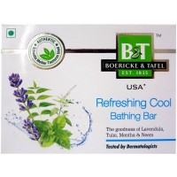 Willmar Schwabe India B&T Refreshing Cool Bathing Bar (75g) : Gives Cooling Effect, Beneficial in Scorching Heat