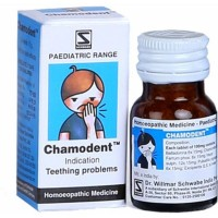 Willmar Schwabe India Chamodent (10g) : Relieves Teething Problems, Helps Dentition, Irritability