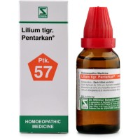 Willmar Schwabe India Lilium Tigrinum Pentarkan (30ml) : Helpful in the white discharge in females, cramps, headache, hot flushes