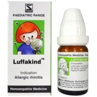 Willmar Schwabe India Luffakind (10g) : Relieves Sneezing due to Pollen Allergy, Cold, Running Nose