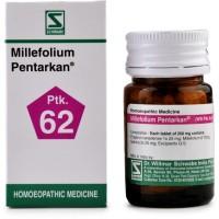 Willmar Schwabe India Millefolium Pentarkan (20g) : Controls Bleeding, Excessive, Prolonged Menses, pain in abdomen