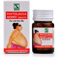 Willmar Schwabe India Phytolacca Berry Tablets (20g) : Helps Managing Excess Weight, Increase Fat Metabolism