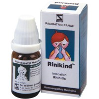 Willmar Schwabe India Rinikind (10g) : Useful in Difficult Respiration, Blocked Nose, Suffocative Cough