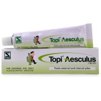 Willmar Schwabe India Topi Aesculus Gel (25g) : Helps in Painful and Bleeding Piles/Haemorrhoids
