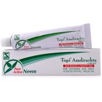 Willmar Schwabe India Topi Azadirachta Cream (25g) : Relieves Boils, Ulcers, Itching Eczema, Scabies,Rash