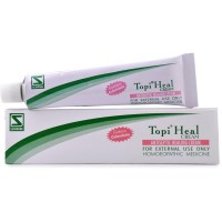 Willmar Schwabe India Topi Heal Cream (25g) : Helps in Wounds, Cuts, Sore Nipples, Nappy Rash, Bed Sores, Boils