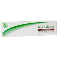 Willmar Schwabe India Topi Sulphur Cream (25g) : Relieves Redness, Itching, pimples, rashes, skin eruptions