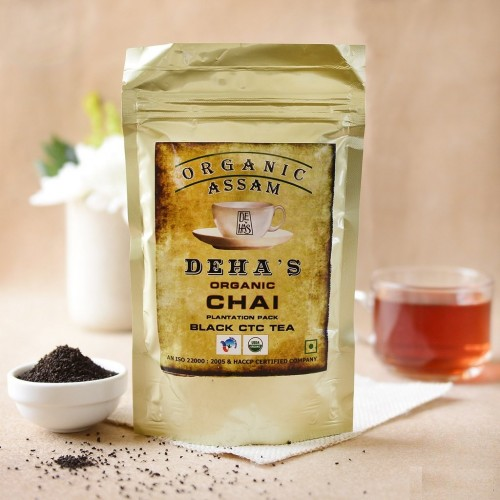 Deha's Organic Black Assam Tea 250 gm