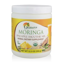 Grenera Moringa Pineapple Smoothie Mix-350 Gram