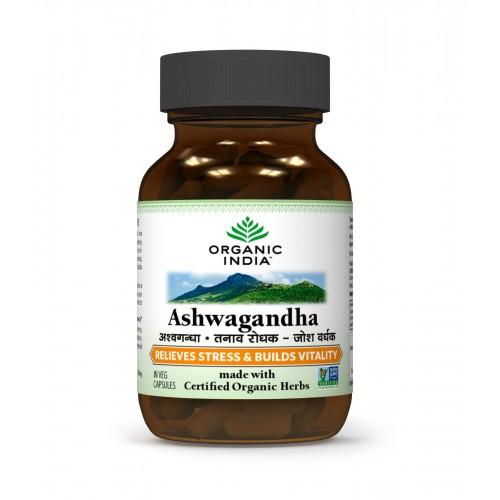 Organic India ASHWAGANDHA Capsules (60)