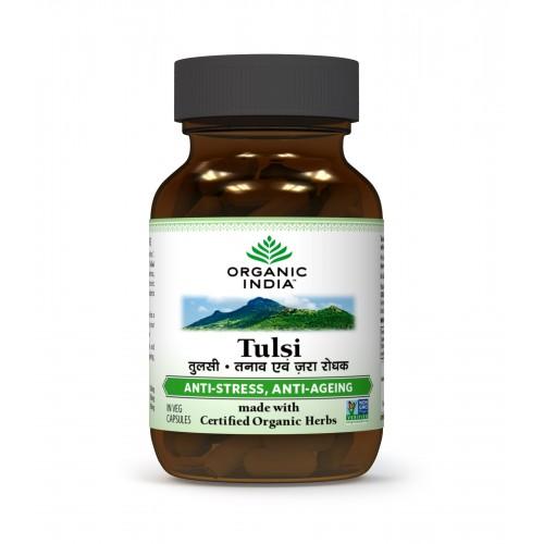 Organic India TULSI Capsules (60)