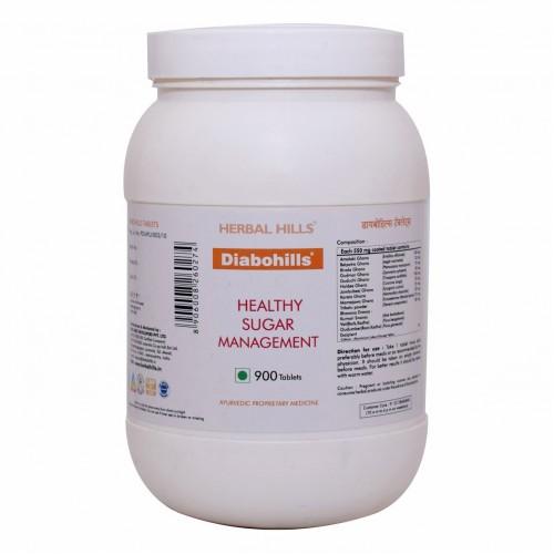 Herbal Hills Diabohills Diabetes Control Tablets Value Pack (900)