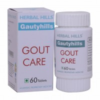Herbal Hills Gautyhills Tablets (60) - Natural Gout Relief
