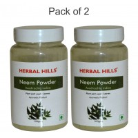 Herbal Hills NEEM Powder 200g (Pack of 2 x 100 gm each)