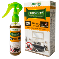 Herbal Strategi Bed Bug Spray - Bed Bug Repellent - 100ml