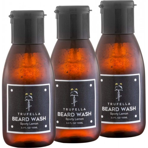 Trufella Beard Wash (Sporty Lemon 100mL) PACK OF 3