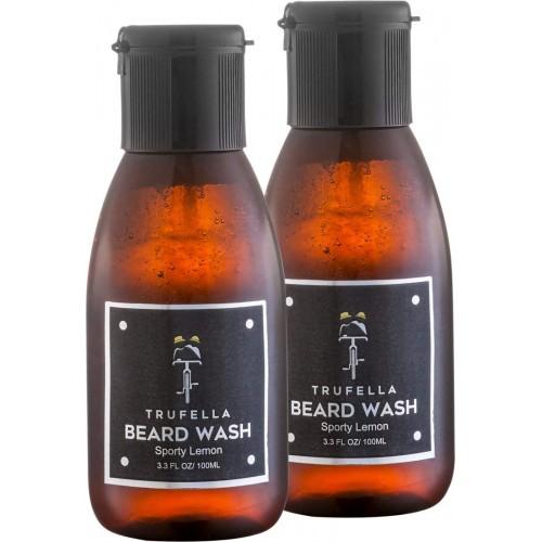 Trufella Beard Wash (Sporty Lemon 100mL) TWIN PACK