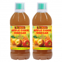 NutrActive™ Natural Apple Cider Vinegar WithMother Of Vinegar, 500 Ml | Raw, Unfiltered & Unpasteurized (2)