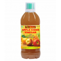 NutrActive™ Natural Apple Cider Vinegar With Mother Of Vinegar, 500 ml | Raw, Unfiltered & Unpasteurized