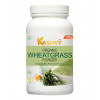 Kashvy Wheatgrass Powder 100 gm | Natural Antioxidant