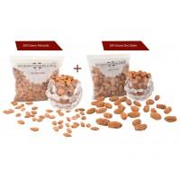 Badam 200 gms + Dry Dates 200 gms