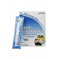 COCO NIRVANAA Delicious Natural Tender Coconut Water Powder 15g each (Pack Of 11 - 165 gms)