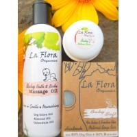 "La Flora Organics ""BABY FLORA"" Baby Care Combo"