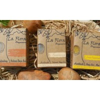 """Flora Man"" - Combo Gift set of 3 Refreshing Handmade Soaps for Men"