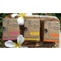 La Flora Organics SUPER SKIN Combo of 3 Handmade Natural Luxury Soaps