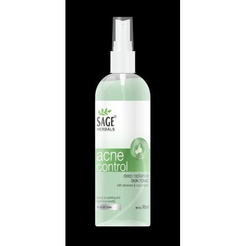 Sage Herbals Natural Anti Acne Control Radiance Skin Tonner 90ml For Women