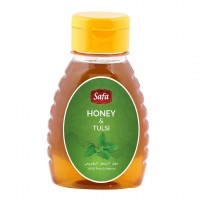 Safa Honey with Tulsi, Natural, Unheated, Unpasteurized 250 gm - Pack of 2