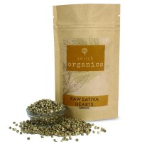 SorichOrganics Raw Sativa Hearts, Protein and Fibre Rich Superfood - 400 Gm