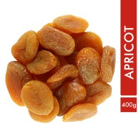 Sorich Organics Dried Apricot - Unsweetened And Naturally Dehydrated Fruit - 400 Gm