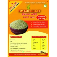 Fat2fit Foxtail Millet (thinai Rice) With Recipe Pamphlet - 500 Gram
