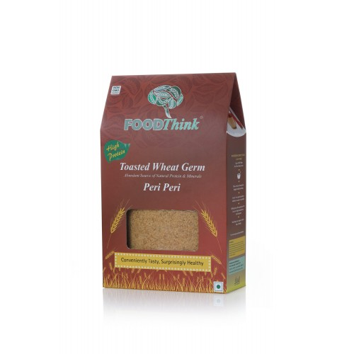 Foodthink Toasted Wheat Germ Peri Peri 400g