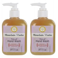 Mountain Herbs Natural Hand Wash 2 Bottles Of 250 Ml Each